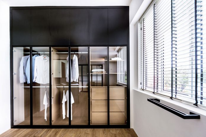 built in wardrobe price Singapore